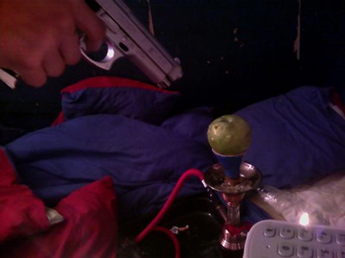 Avrättar ett äpple