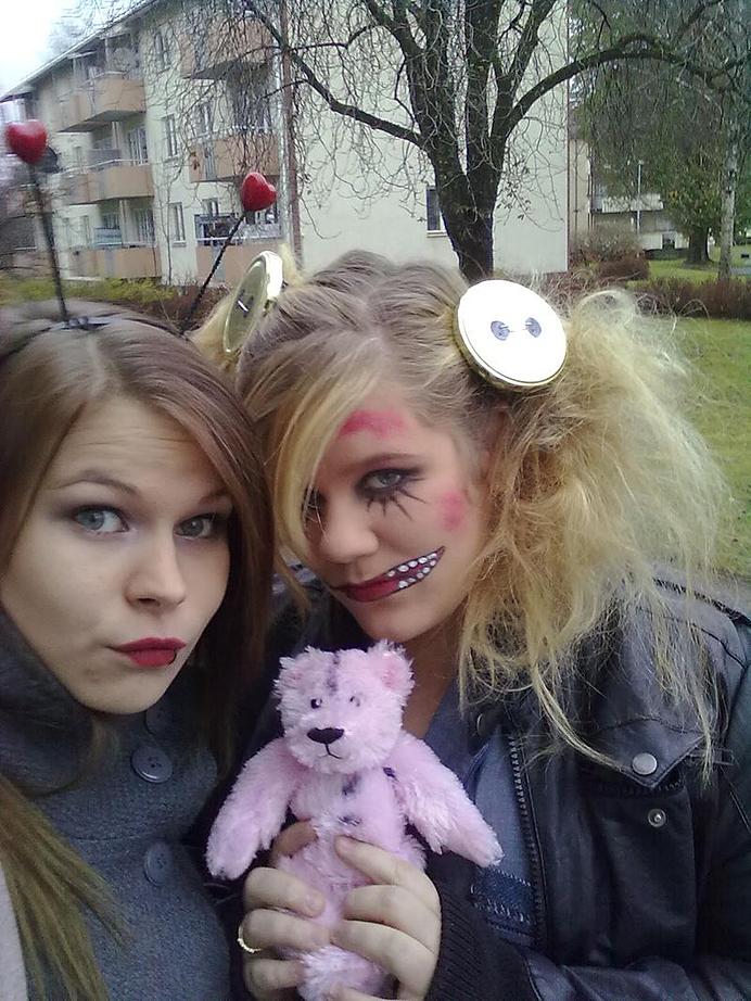 Halloween Nyckelpiga Trasdocka