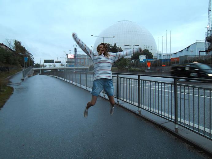 Hoppar vid Globen, epixxx