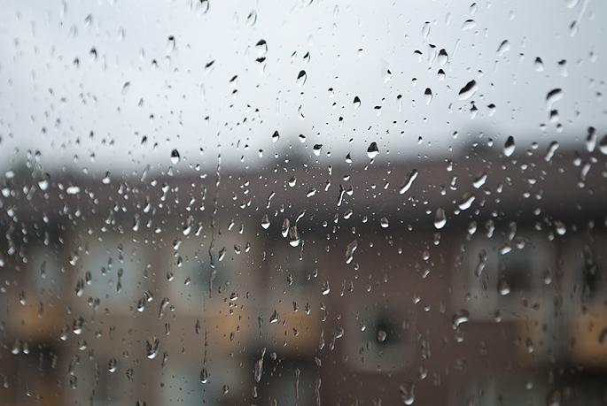 regn på rutan rain