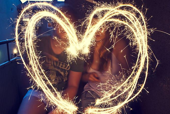 Tomtebloss hjerta