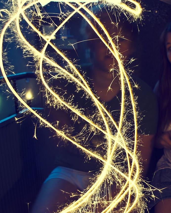 Tomtebloss sparkles
