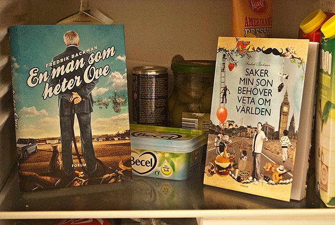 Fredrik Backman Bok En man som heter Ove Saker min son behöver veta om världen signerade
