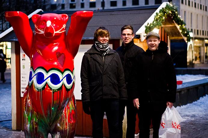 Borås stora björn torget 2012