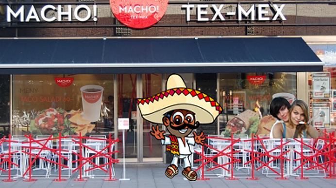 Macho! texmex mexikanare