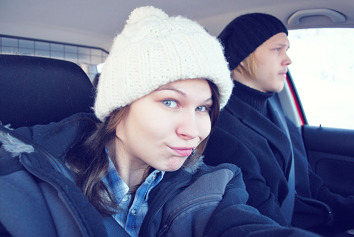 Påväg till Åre Nea & Alex