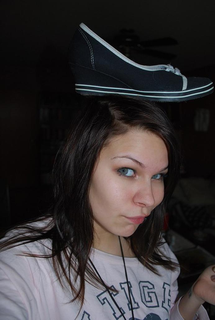Shoe on my head