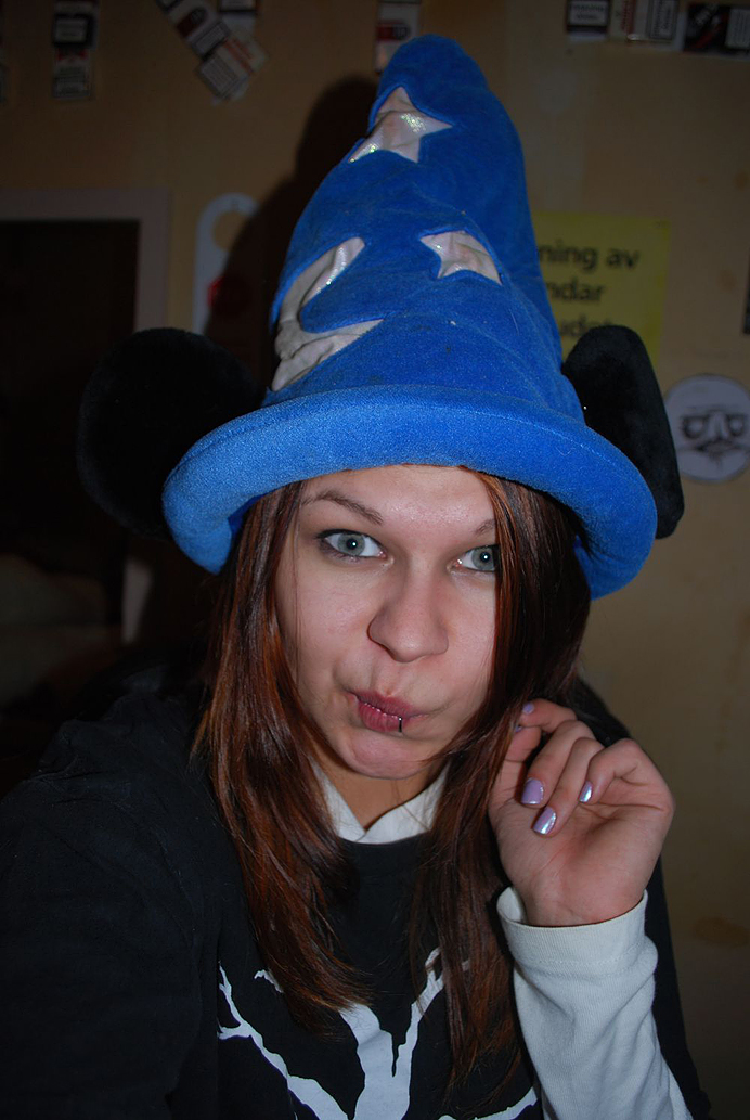 musse pigg mössa hatt öron trollkarl mickey mouse