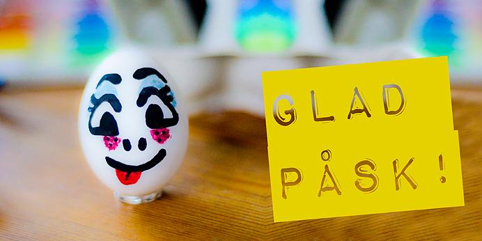 GLAD PÅSK HAPPY EASTER