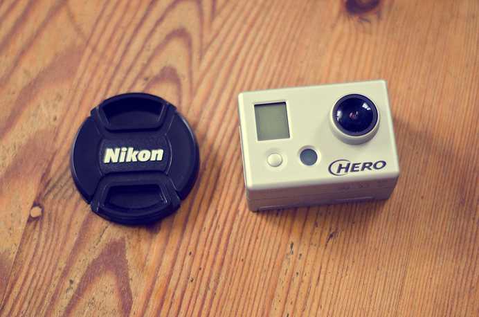 GoPro Go Pro camera tiny size small supertiny