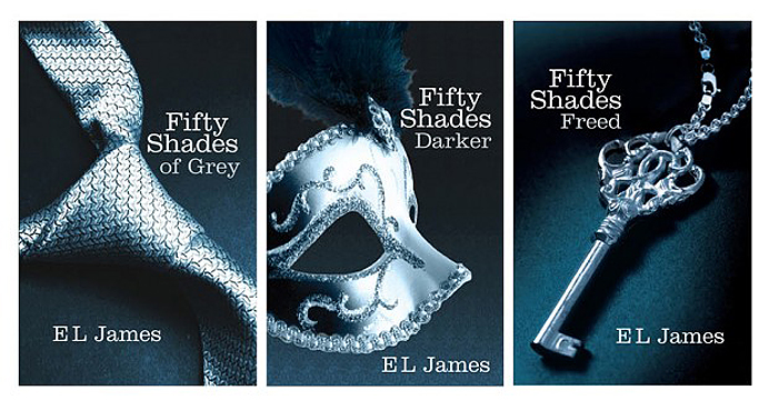 Fifty Shades of Grey, fifty shades darker, fifty shades freed Worst book trilogy ever