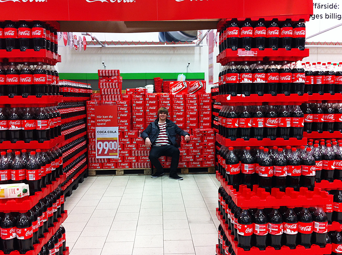 Willys Älvsjö Coca Cola