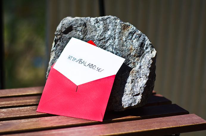 Stenen balabo