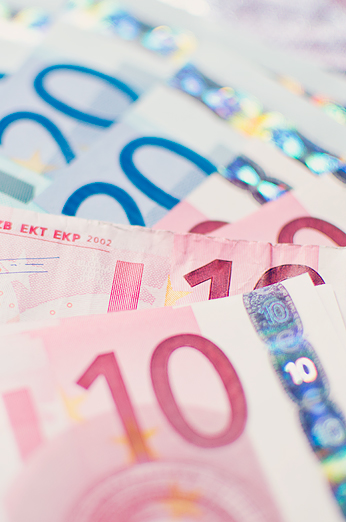 Euro Pengar Money Växla