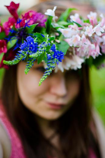 Midsommarkrans blommor