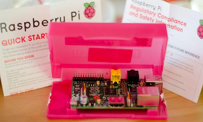 Raspberry Pi tiny computer