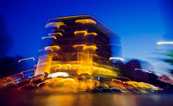 Thessaloniki at night