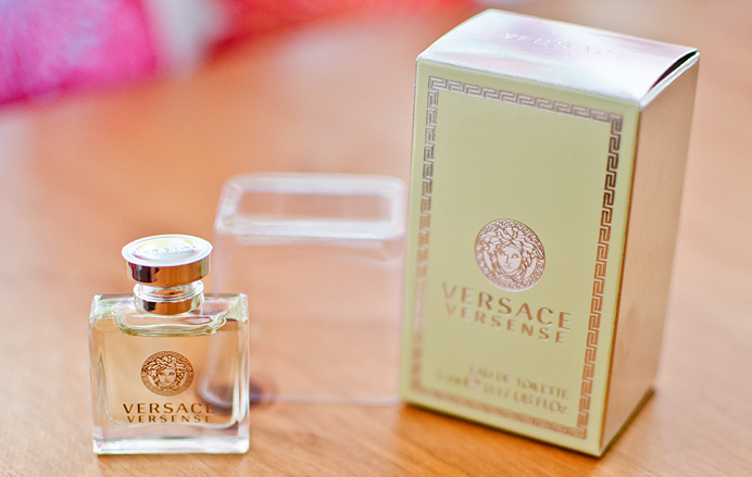 Versace Versense Eau De Toilette Perfume Taxfree bottle tiny small
