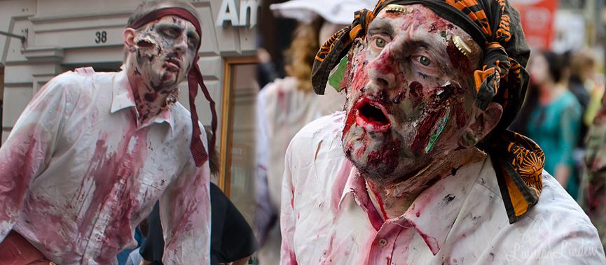 Stockholm Zombie Walk 2012 och 2013 (1)