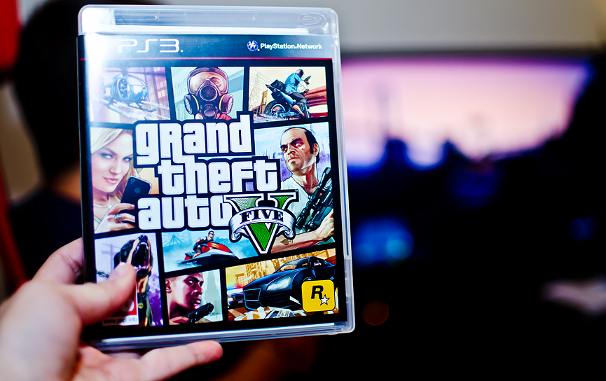 grand theft auto V five 5 play station 3 playstation