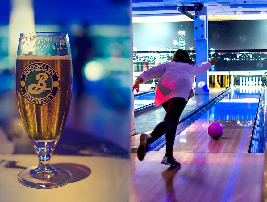 Öl och Bowling