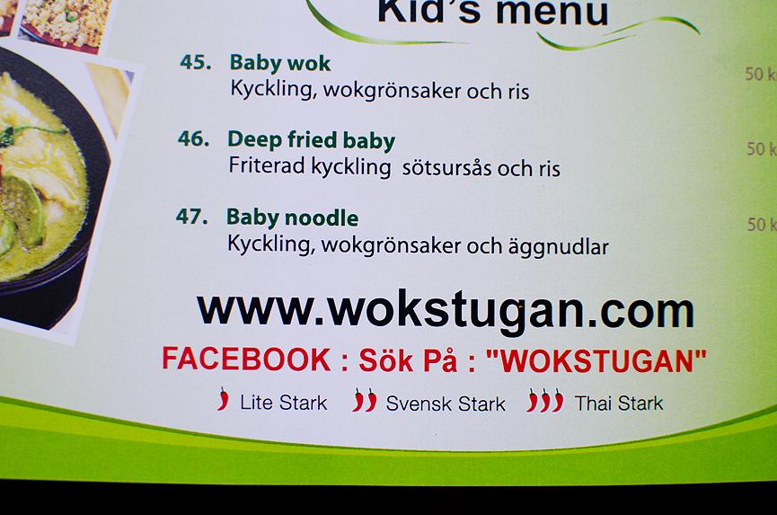 Deep fried baby, svensk stark, thai wokstugan
